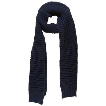 Pletená šála bata, modrá, 909-9393 - 13