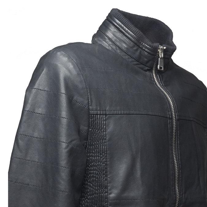 Pánská bunda bata, černá, 971-6165 - 16