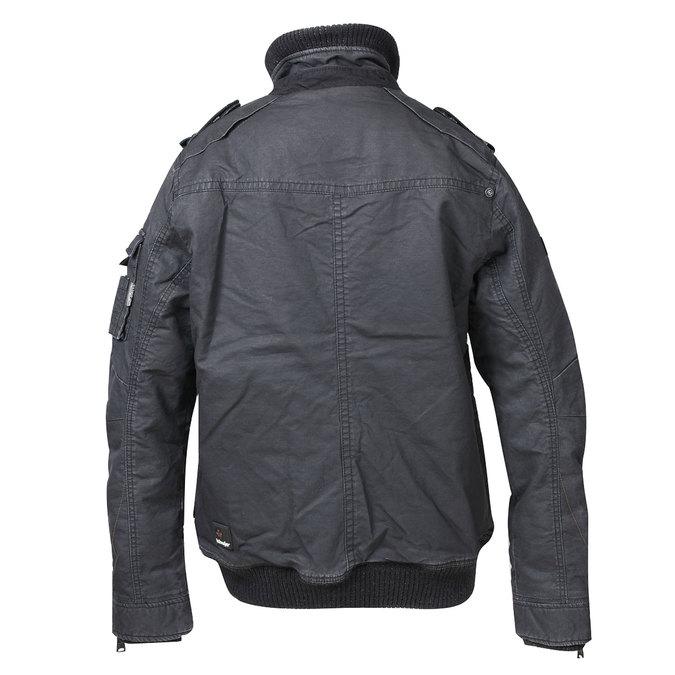 Pánská zimní bunda khujo, černá, 979-6030 - 26