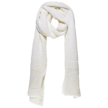 Pletená šála bata, bílá, 909-1374 - 13