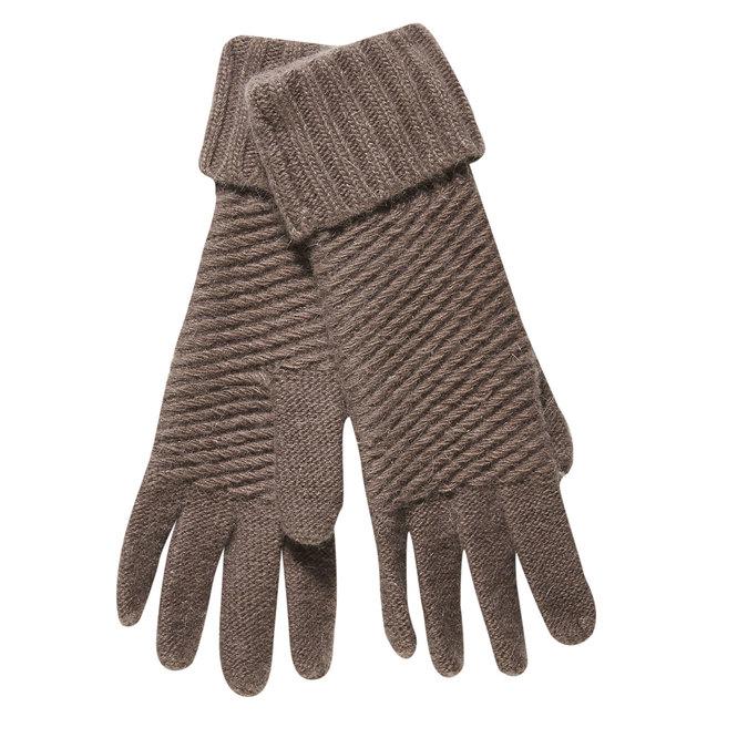 Dámské rukavice bata, žlutá, 909-8312 - 13