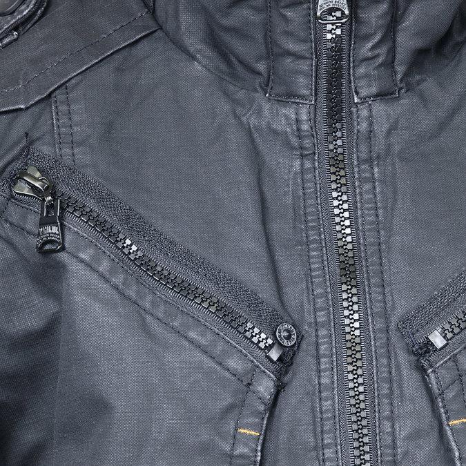 Pánská zimní bunda khujo, černá, 979-6030 - 16