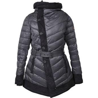 Dámská zimní bunda s páskem khujo, šedá, 979-2013 - 13
