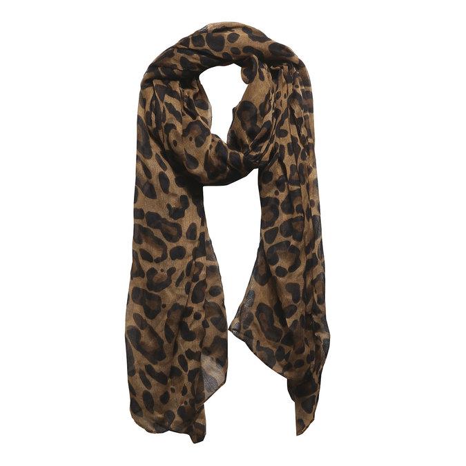 Dámský šátek bata, hnědá, 909-4311 - 13