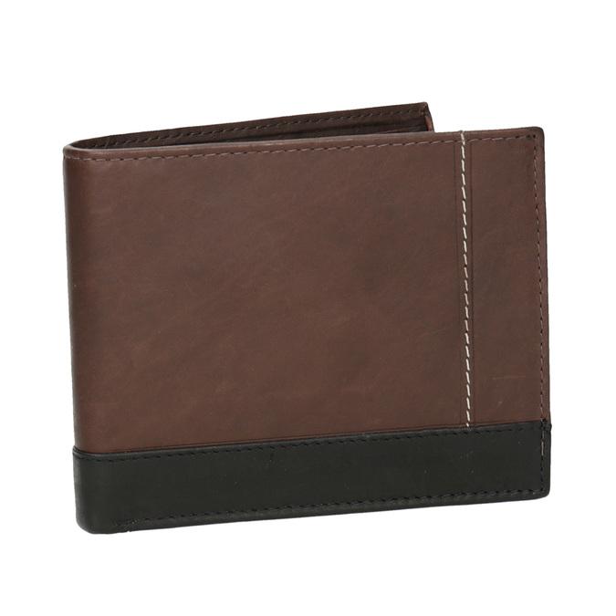 Pánská kožená peněženka bata, hnědá, 944-8149 - 13