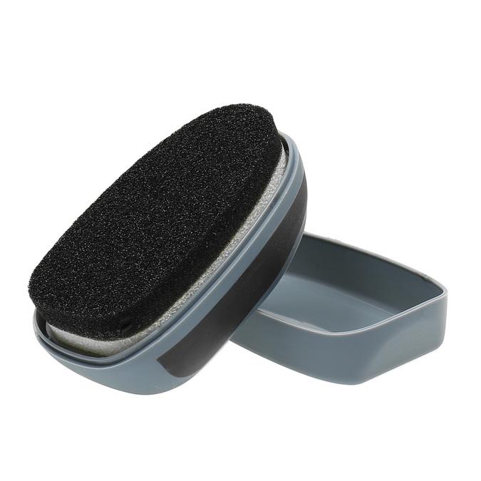 Houbička k přeleštění černé obuvi collonil, černá, 990-6101 - 26