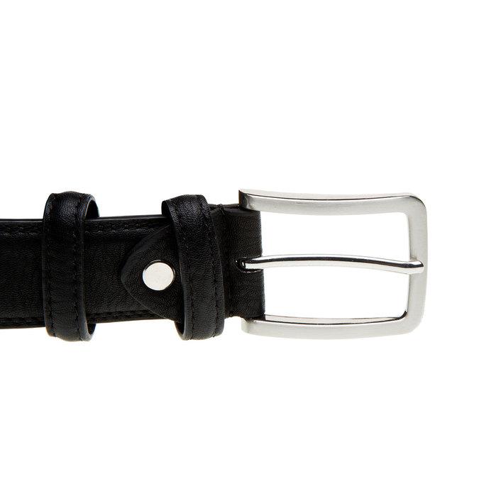 Pánský opasek bata, černá, 954-6851 - 26