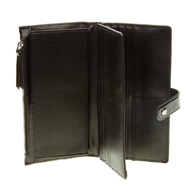 Dámská černá peněženka bata, černá, 941-6129 - 16