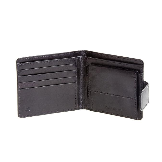 Pánská kožená peněženka bata, černá, 944-6145 - 16