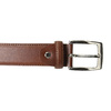 Kožený pánský opasek bata, hnědá, 954-3170 - 26
