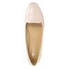 Dámské kožené baleríny bata, růžová, 528-5630 - 26