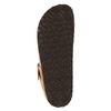 Kožené žabky na korkové podešvi birkenstock, hnědá, 564-3100 - 26