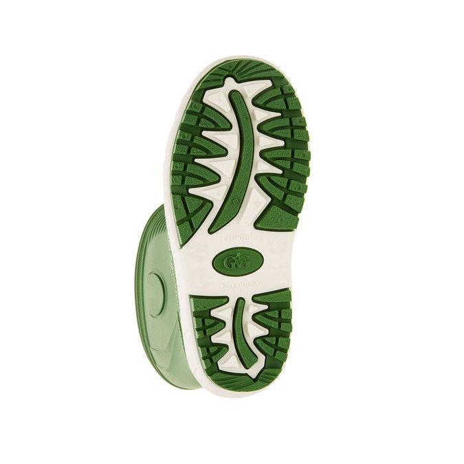 Dětské holínky mini-b, zelená, 392-7101 - 26