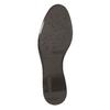 Kožená kotníčková obuv s přezkou bata, hnědá, 594-4602 - 26