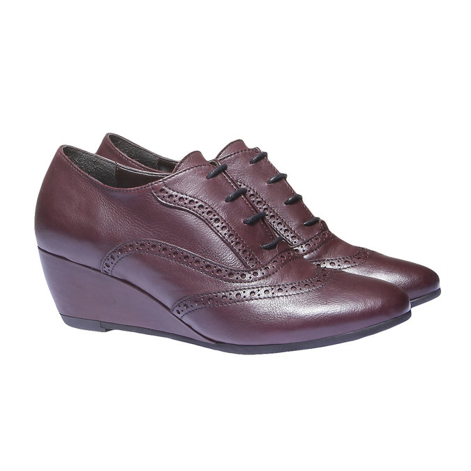 Women ankle boots bata, červená, 624-5142 - 26