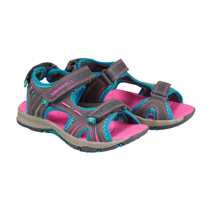 Kožené sandály merrell, 361-5100 - 26