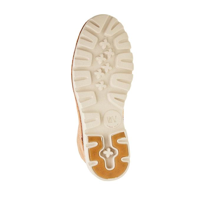 Kožené kotníčkové boty weinbrenner, hnědá, 594-3531 - 26