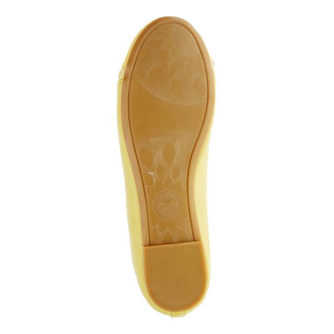 Žluté baleríny s páskem mini-b, žlutá, 321-8181 - 26