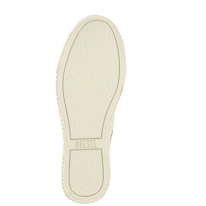 Dámské Slip on v džínovém stylu diesel, bílá, 589-1367 - 26