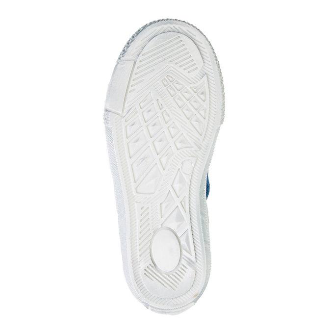 Chlapecká kožená obuv richter, modrá, 413-9002 - 26