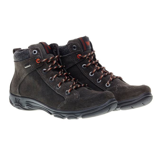 Kožené zimní boty weinbrenner, černá, 893-6218 - 26