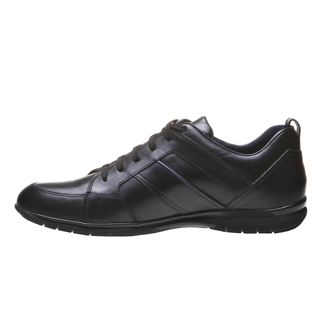 Kožené tenisky bata, černá, 824-6351 - 15