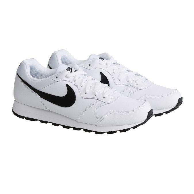 Pánská sportovní obuv nike, bílá, 804-1159 - 26