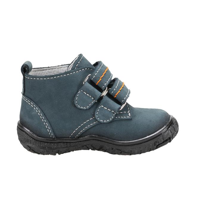 Dětské tenisky na suchý zip bata, modrá, 116-9123 - 16