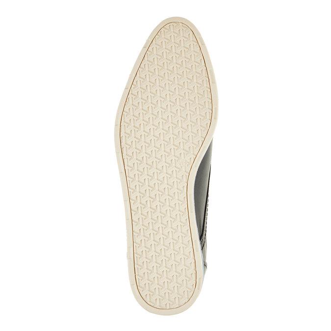 Kožené ležérní polobotky bata, černá, 824-9105 - 26