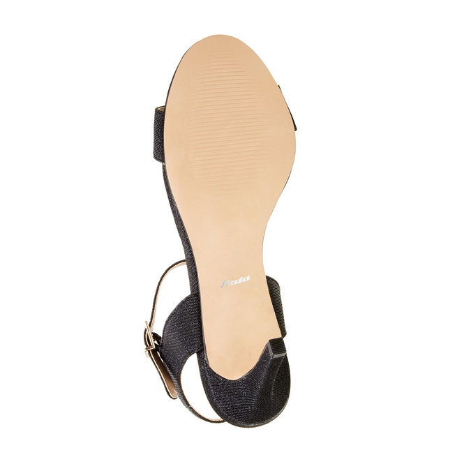 Sandály na jehlovém podpatku bata, černá, 761-6310 - 26
