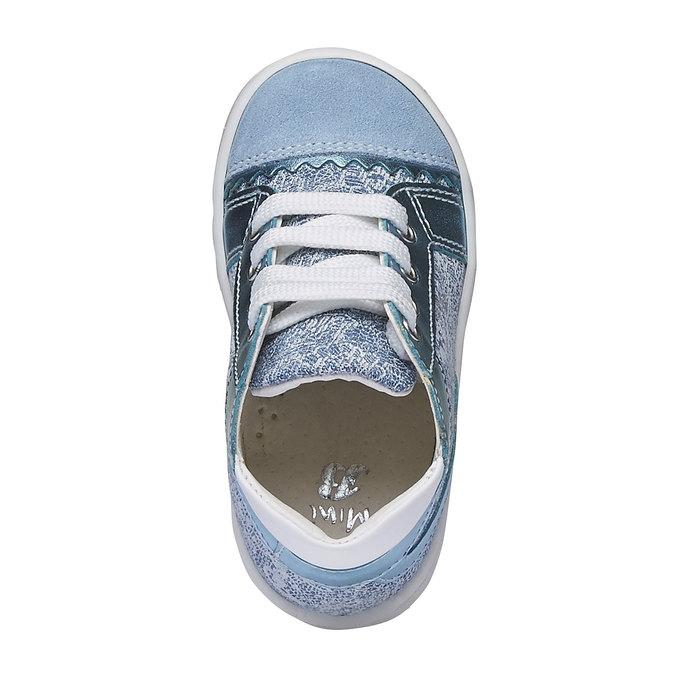 Dětské kotníčkové tenisky bubblegummer, modrá, 129-9146 - 19