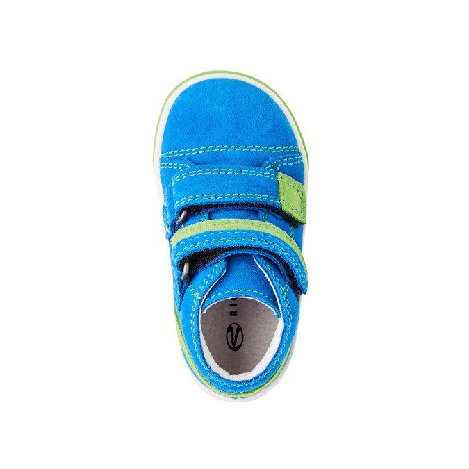 Kožené kotníčkové tenisky richter, modrá, 113-9014 - 19