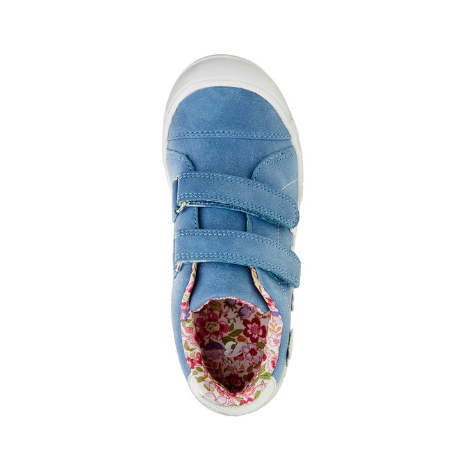 Dívčí tenisky na suché zipy mini-b, modrá, 221-9161 - 19