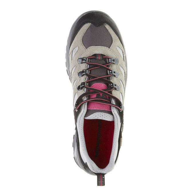 Kožené Outdoor boty, šedá, 543-2208 - 19