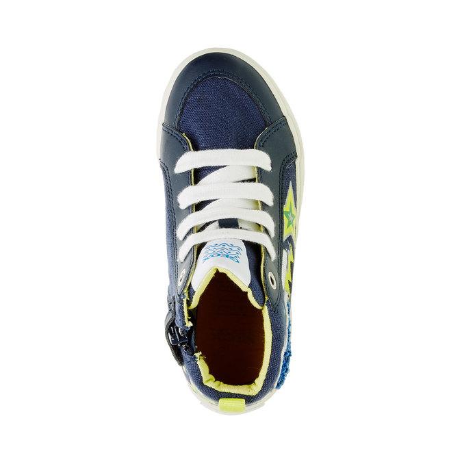 Dětské kotníčkové tenisky geox, modrá, 319-9105 - 19