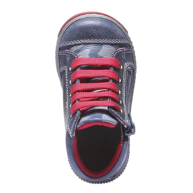 Dětské kotníčkové tenisky mini-b, fialová, 114-9135 - 19