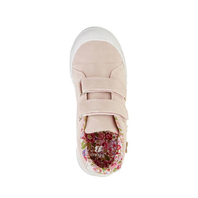 Dívčí tenisky na suché zipy mini-b, růžová, 221-5161 - 19
