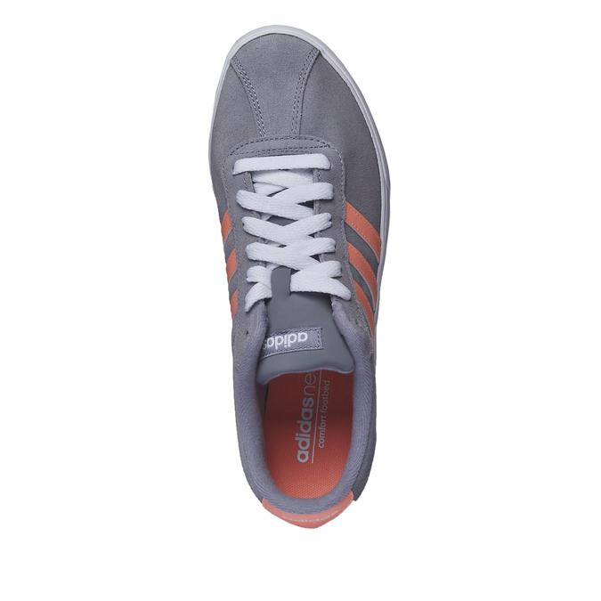 Ležérní kožené tenisky adidas, šedá, 503-2685 - 19