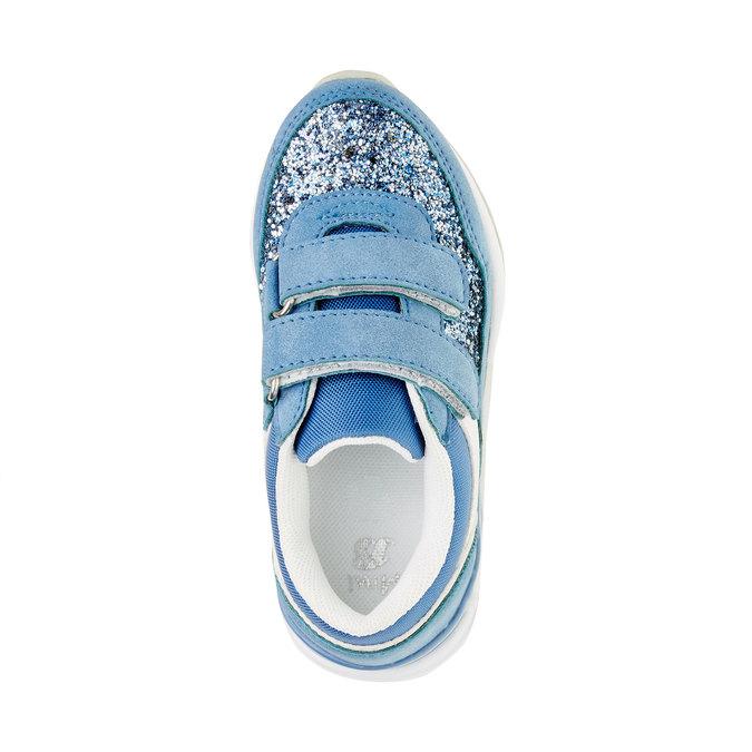 Dětské tenisky se třpytkami mini-b, modrá, 221-9150 - 19