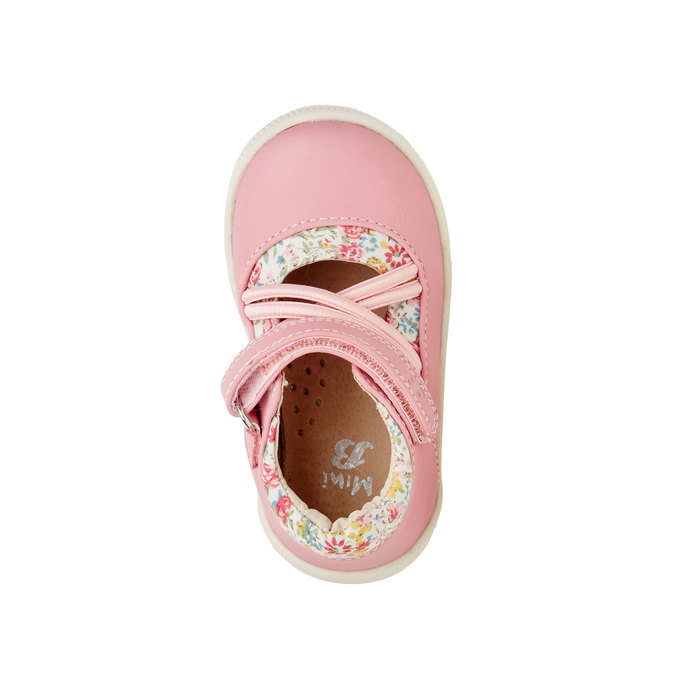 Dívčí kotníčkové boty mini-b, růžová, 121-5103 - 19