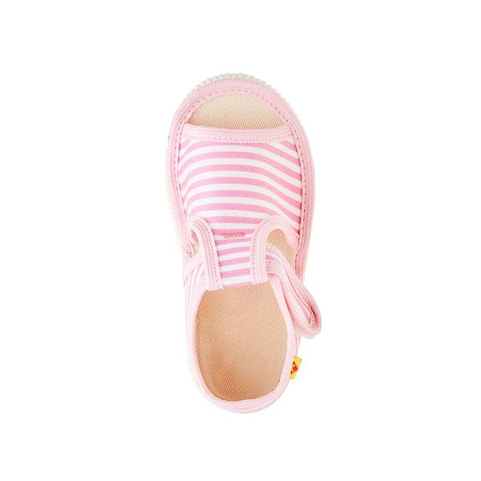 Dětská domácí obuv bata, růžová, 179-5102 - 19