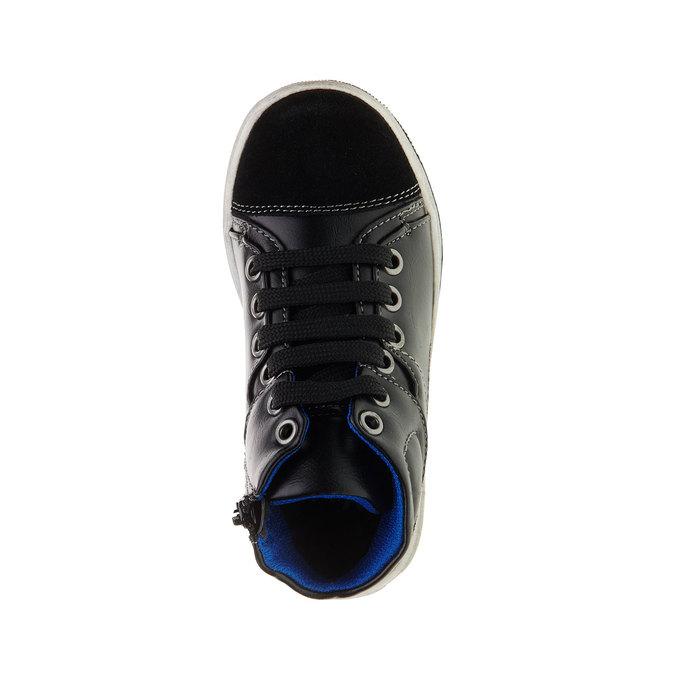 Dětské kotníčkové tenisky mini-b, černá, 211-6133 - 19