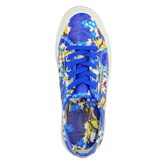 Barevné dámské tenisky superga, modrá, 589-9319 - 19