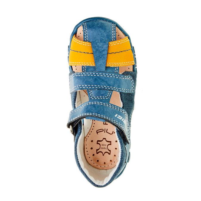 Chlapecké sandály na suchý zip primigi, modrá, 111-9139 - 19