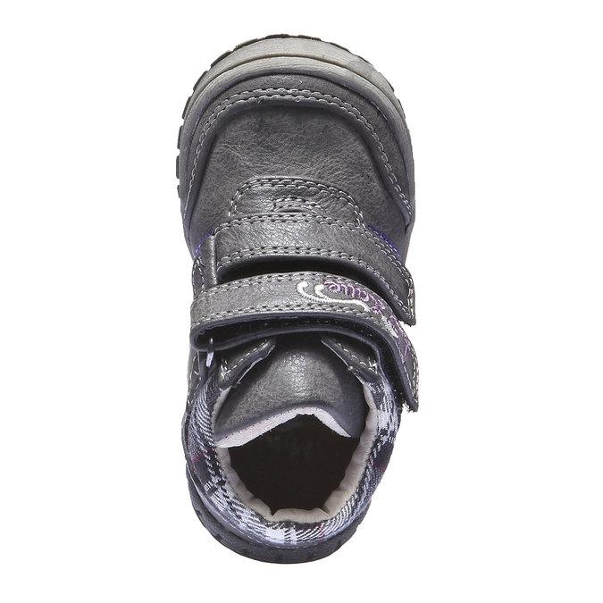 Dětské tenisky mini-b, šedá, 121-2100 - 19