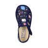Dětská domácí obuv bata, černá, 179-9005 - 19