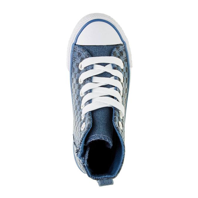 Dětské kotníčkové tenisky mini-b, modrá, 319-9211 - 19
