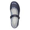 Dívčí baleríny s páskem přes nárt bata, modrá, 321-9310 - 19