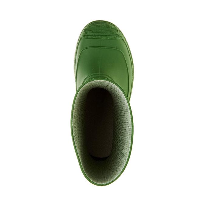 Dětské holínky mini-b, zelená, 392-7101 - 19