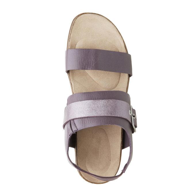 Dámské nazouváky s elastickou patou rockport, fialová, 566-9104 - 19